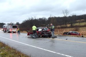 Five injured in Northpointe head-on crash