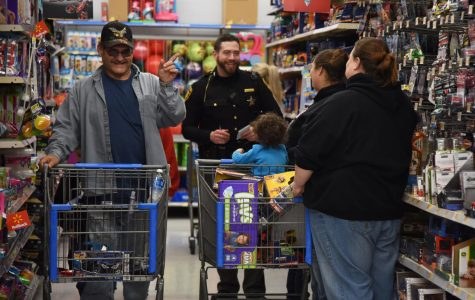 Local FOP lodge hosts annual 'Shop with a Cop' Monday for disadvantaged children