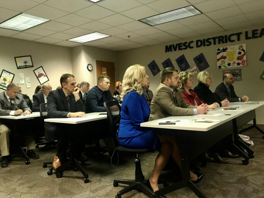 Public school advocates and superintendents gathered at the Muskingum Valley ESC Thursday to discuss widespread opposition to the expansion of the EdChoice Scholarship Program.