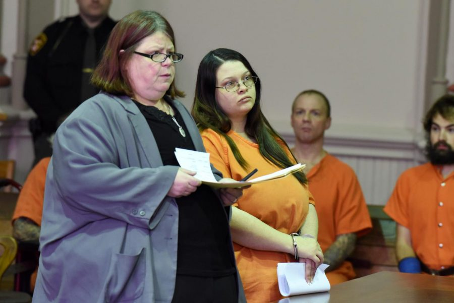Girlfriend of man convicted in attempted rape case arraigned after evading police
