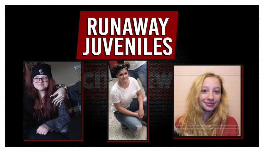 From left to right: Lynze Grant, Hannah Bobb and Kristin Vohs. Photos provided by the Muskingum County Sheriff's Office