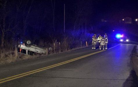 Rollover crash results in OVI