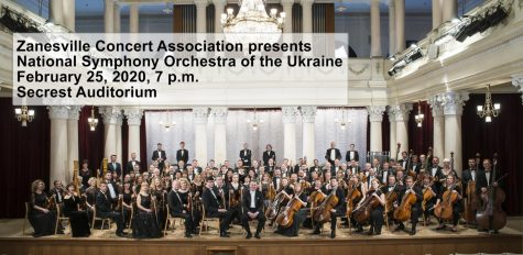 Secrest to host Ukrainian orchestra