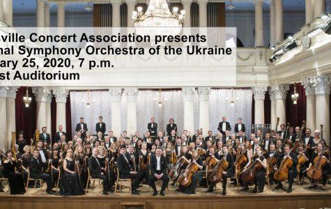 Secrest to host Ukrainian orchestra