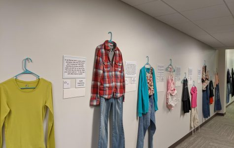 Art exhibit brings awareness to sexual violence skepticism
