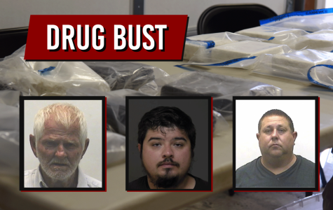 Ronald Cooper, Erick Marquez and Jose Gonzalez all face 33 years in prison on charges related to trafficking.