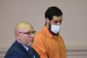 Jonathan Mitchell is sentenced on three counts of aggravated arson during court Wednesday.