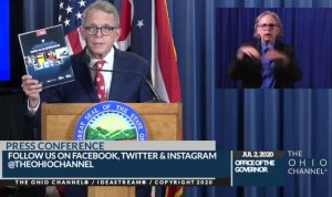 Governor Mike DeWine: 'Our kids need to get back into the school building'