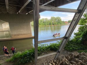Divers pull man from Muskingum River 45 minutes after going under