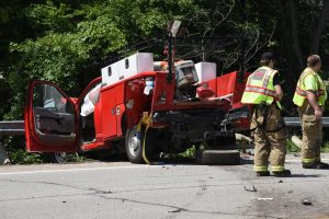 Man seriously injured in Wednesday afternoon crash