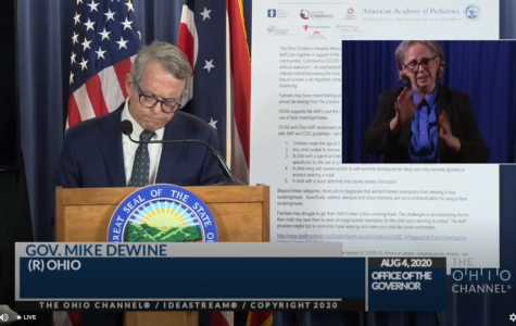 DeWine: all K-12 students must wear a mask
