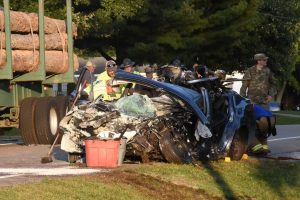 Fatal crash Monday afternoon