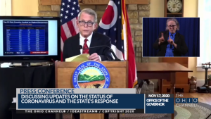 DeWine issues statewide curfew