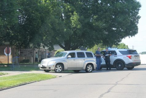 Person struck by vehicle Monday afternoon