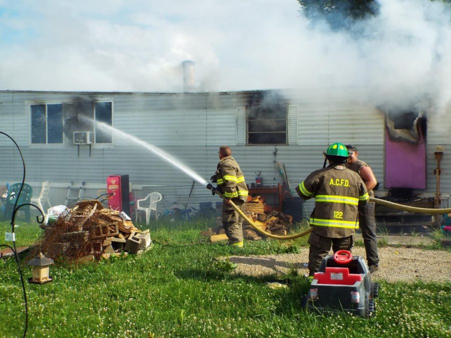 Adamsville family loses home in fire