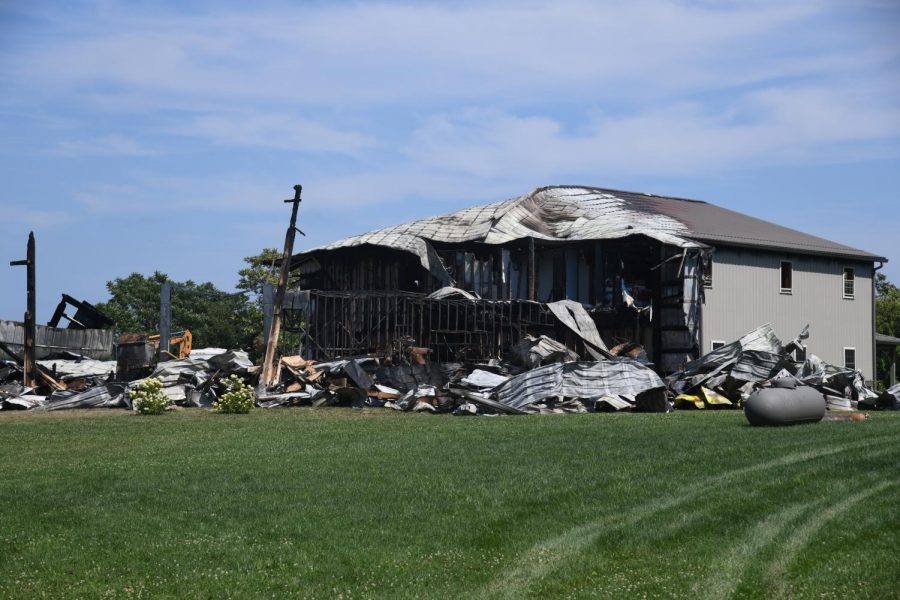 Family loses home in fire Wednesday