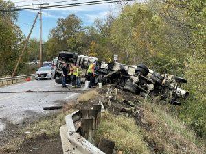 Crash closes SR-60 south of Duncan Falls