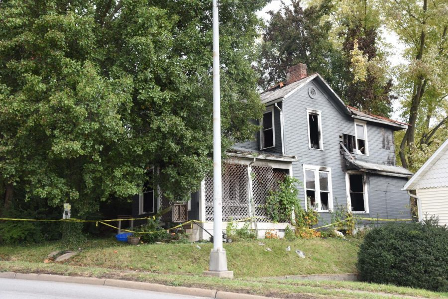 Family displaced in fire over weekend
